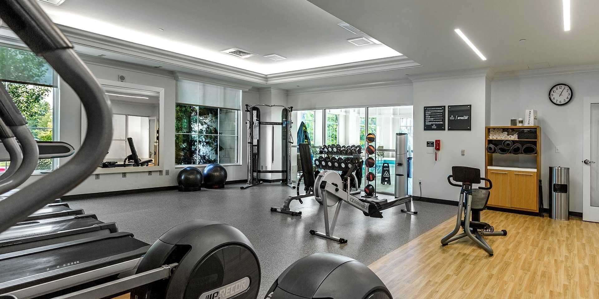 Columbus ohio hotel fitness centerhilton columbus at easton